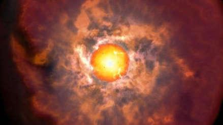 Científicos descubren en Chile momento crítico previo a la muerte de las estrellas