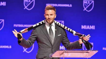 David Beckham anunció el nombre y escudo de su nuevo club en la MLS