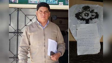 Amenazan de muerte a candidato a alcaldía de Sánchez Carrión