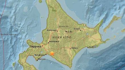 Fuerte sismo de magnitud 6.7 se registró en Japón