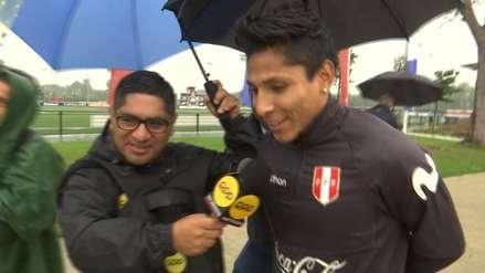 Raúl Ruidíaz habló de la lesión que lo marginaría del duelo ante Holanda