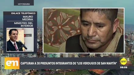 La Policía desbarató la banda 'Los Verdugos de San Martín' en un nuevo megaoperativo