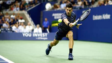 Novak Djokovic realizó un magistral punto para entrar a semifinales del US Open