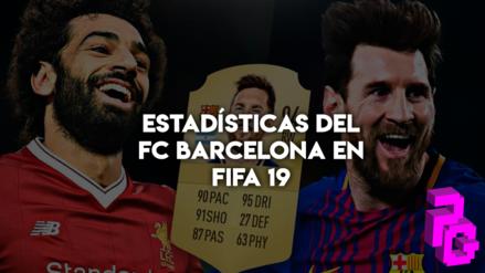 Se filtran las valoraciones del FC Barcelona en FIFA 19