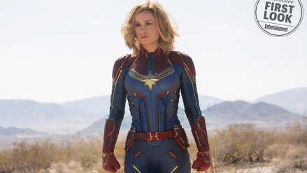 Capitán Marvel: Las 10 fotos inéditas de la nueva superheroína