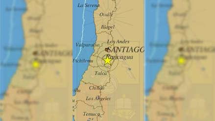 Sismo de magnitud 5.1 estremece Santiago y la zona central de Chile