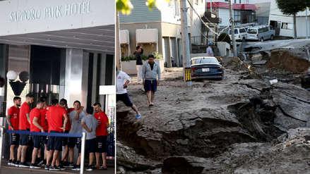 Japón suspende partido amistoso con Chile tras el terremoto que golpeó al país