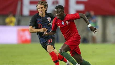 Croacia igualó con Portugal en su primer amistoso tras el Mundial