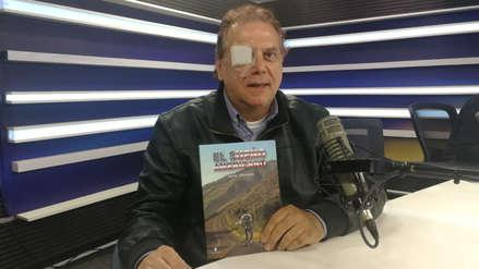 Javier Meneses dio detalles del cáncer a la garganta que padece