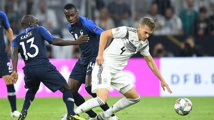 Alemania y Francia empataron sin goles en su debut en la Liga de Naciones de la UEFA