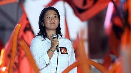 Corte Superior de Lima dejó al voto amparo de Keiko Fujimori por caso cócteles