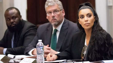 Kim Kardashian regresó a la Casa Blanca para hablar sobre la reforma carcelaria