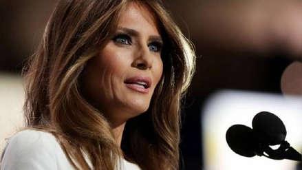 Melania Trump acusa al autor del artículo anónimo de
