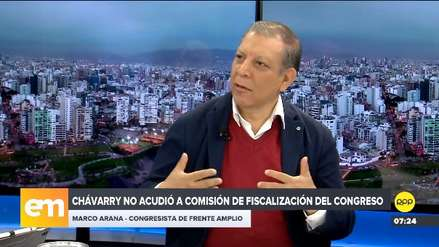 Marco Arana: Fuerza Popular podría ir por la vacancia y hay que tener cuidado