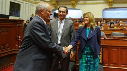 Mercedes Aráoz confirmó reciente reunión con Martín Vizcarra y PPK