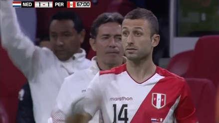 Horacio Calcaterra utilizó la '14' en su debut con la Selección Peruana