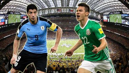 Uruguay goleó 4-1 a México en amistoso internacional