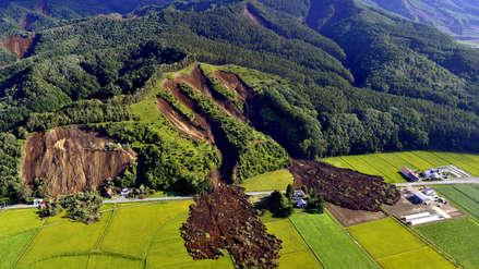 Fotos | El terremoto de 6.7 en Japón provocó deslizamientos de tierra