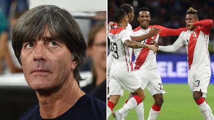 Joachim Löw se refirió sobre el amistoso ante la Selección Peruana