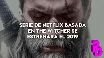 Serie de Netflix basada en The Witcher se estrenará el 2019