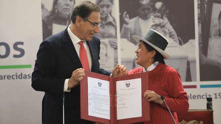 Vizcarra promulgó norma que crea banco de datos genéticos para búsqueda de desaparecidos