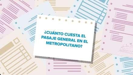 Preguntamos a los candidatos a la alcaldía de Lima cuánto cuesta viajar en Metropolitano y estas fueron sus respuestas