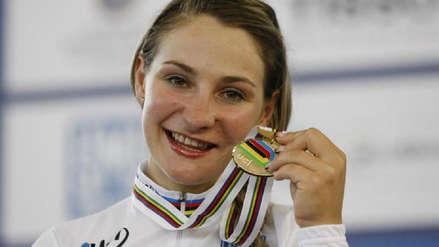 La bicampeona olímpica Kristina Vogel quedó tetrapléjica tras accidente