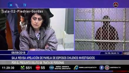 Caso vientre de alquiler: Poder Judicial revocó la prisión preventiva a pareja
