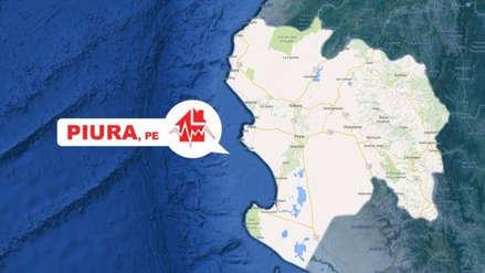 Un sismo de magnitud 4.9 se registró esta mañana en Piura