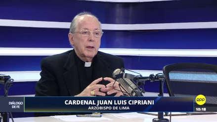 Caso vientre de alquiler: Juan Luis Cipriani lamentó la encarcelación de los esposos