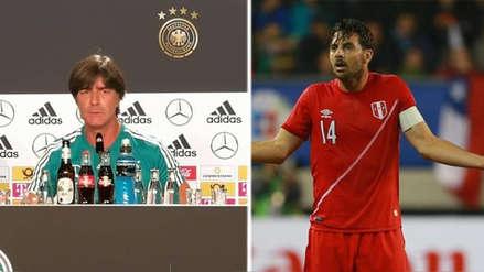 Joachim Löw habló sobre la ausencia de Claudio Pizarro en la Selección Peruana