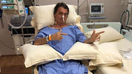 Jair Bolsonaro se recupera de ataque con cuchillo: camina y no tiene infecciones