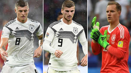 El once confirmado de Alemania para enfrentar a la Selección Peruana