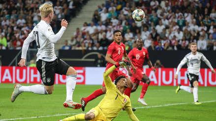 Alemania anotó tras un error en salida de la Selección Peruana