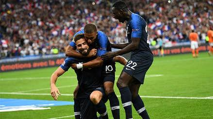 Francia venció a Holanda con gol de Giroud y sumó su primera victoria en la Liga de Naciones