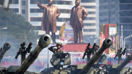 Corea del Norte celebró su 70 aniversario con un discreto desfile militar