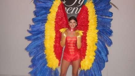 Clarisse Uribe viajó a Miami para su primera actividad oficial como Miss Perú Mundo [FOTOS]