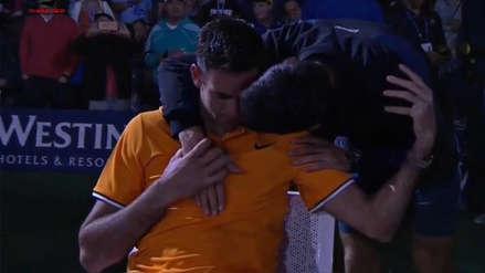 Novak Djokovic ganó el US Open y consoló al argentino Juan Martín Del Potro