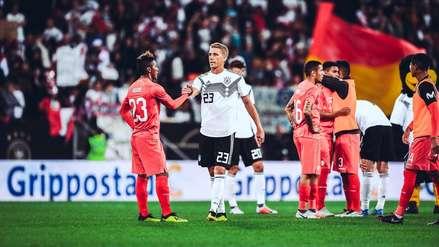 Las portadas de los medios de Alemania tras la victoria de 2-1 ante Perú