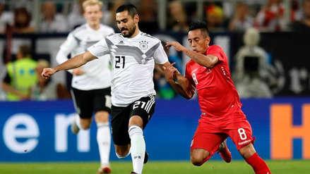 Perú no pudo resistir el resultado y perdió 2-1 ante Alemania en Sinsheim