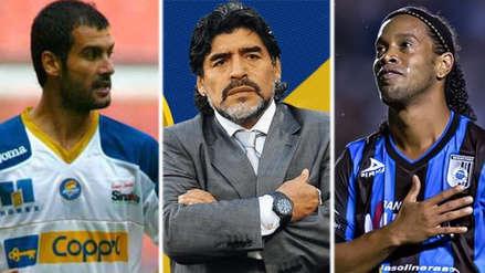 Las 10 estrellas que han pasado por la Liga de México
