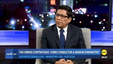 Vicente Zeballos: El Ejecutivo no está interesado en concretar una reunión con Fuerza Popular