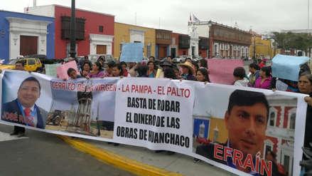 Exigen reanudar obra de agua y desagüe en Huanchaco