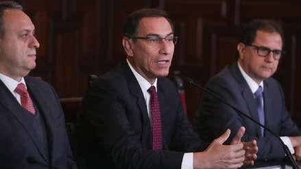 Vizcarra: Los peruanos están ávidos de sacar a los corruptos