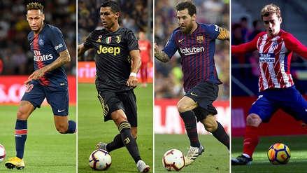 FIFPro: los 15 delanteros nominados al equipo ideal de la temporada