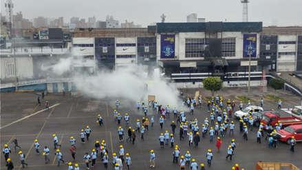 Barra de Alianza Lima llegó a 'Matute' tras toma de estadio