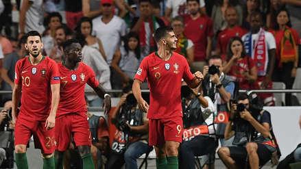 Portugal ganó su primer partido en la UEFA Nations League tras vencer a Italia