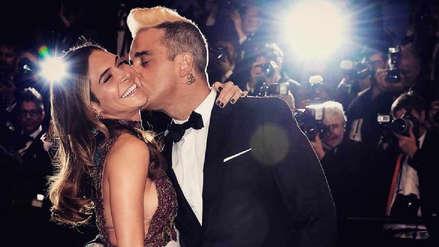 Robbie Williams y su esposa Ayda Field se convirtieron en padres por gestación subrogada