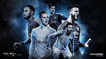 FIFPro: los 5 arqueros nominados al 11 ideal de la temporada