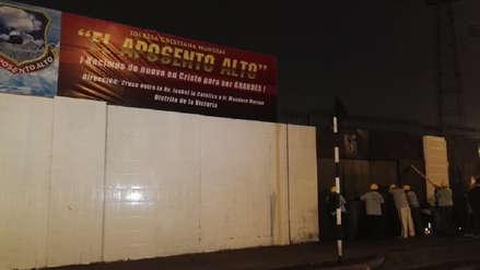 Iglesia cristiana toma explanada del estadio de Alianza Lima